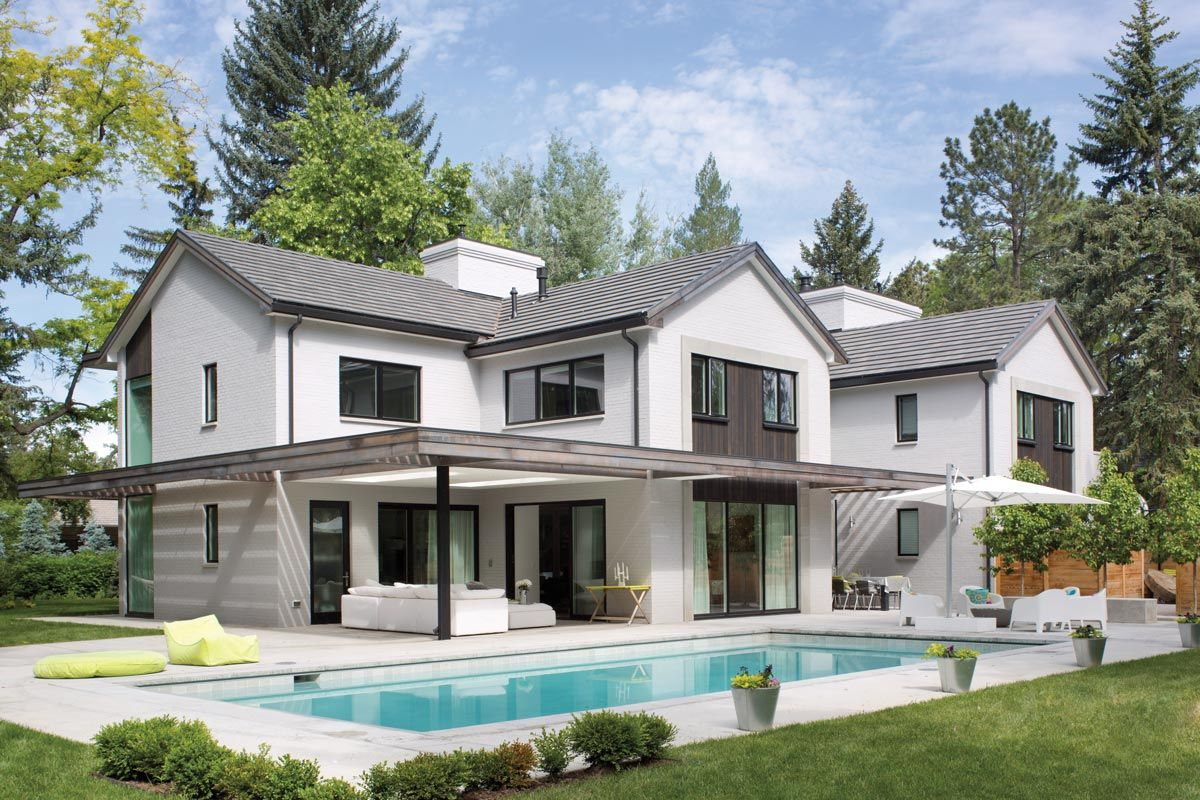 Modern renovation may june luxe interiors design colorado red awards addition also rh pinterest