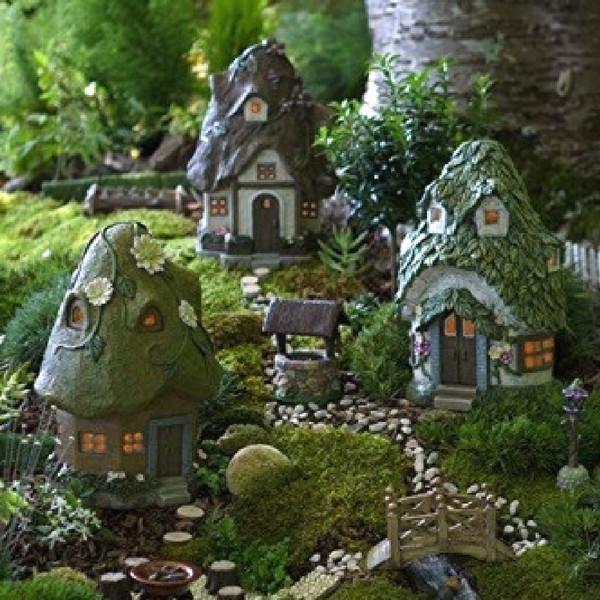 Solar Daisy House Set Teelies Fairy Garden Store Mit Bildern