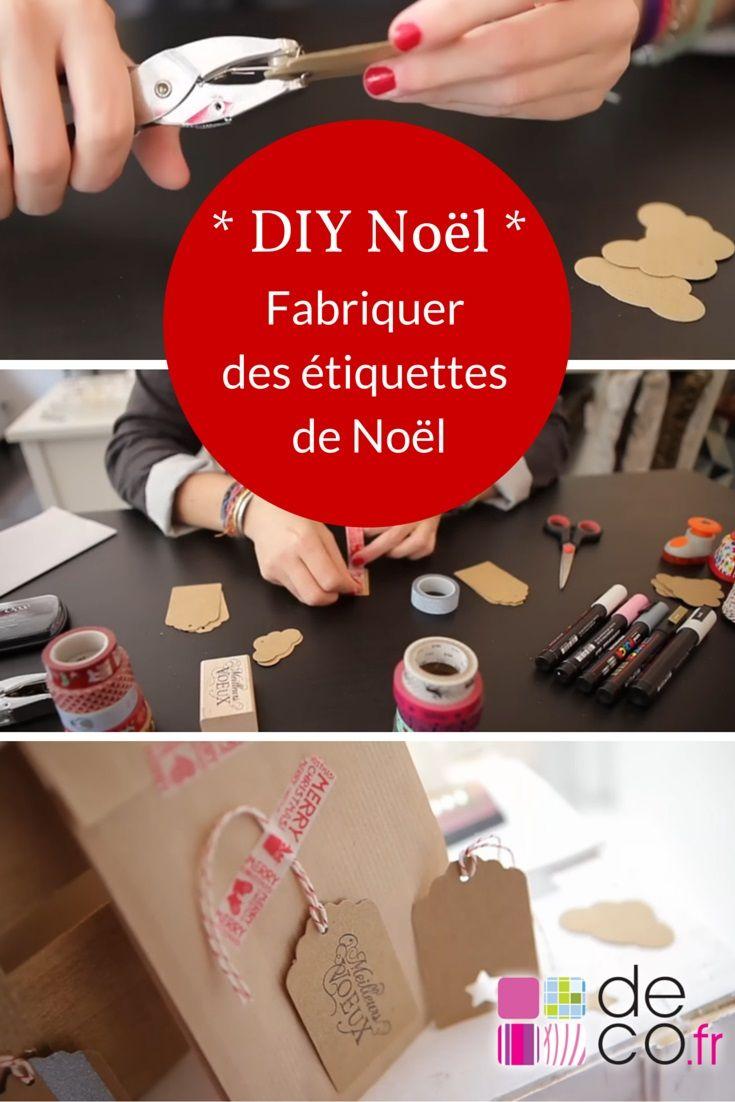 diy no l fabriquer des tiquettes cadeaux no l pinterest etiquette cadeau cadeau et diy. Black Bedroom Furniture Sets. Home Design Ideas