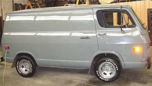 1968 Chevy Van 90 Series FOR SALE From Transfer