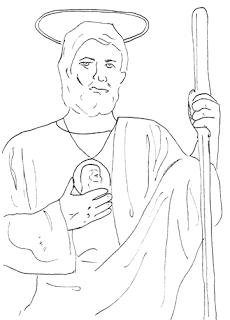 Saints of October Printouts Catholic Kids Ideas and Crafts