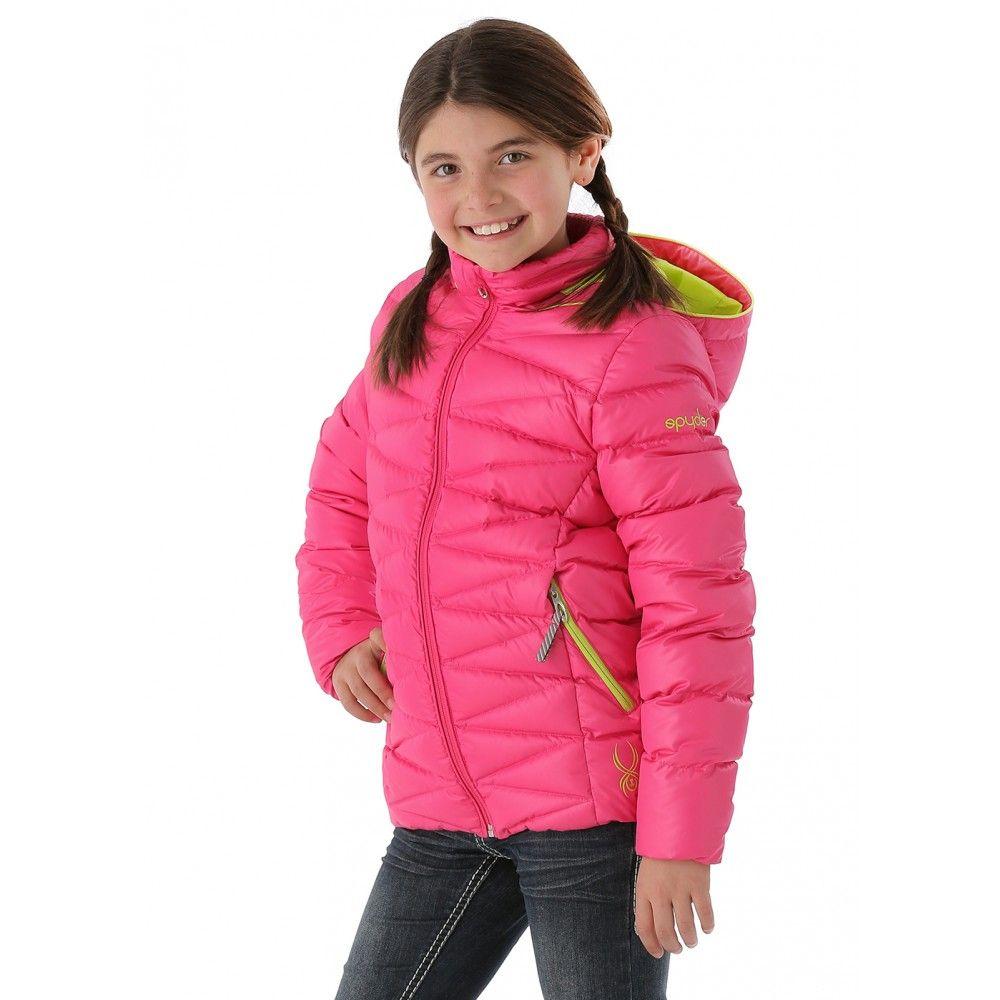 Girls Timeless Down Jacket Girlfriend Sharp Lime Kids Outerwear Jackets Down Jacket [ 1000 x 1000 Pixel ]