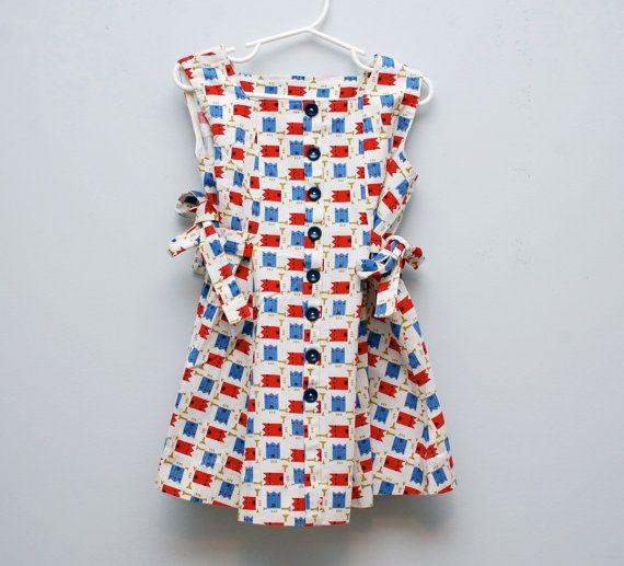 Vintage 1960s girl's party dress by PotatoCakeVintage on Etsy, $18.00