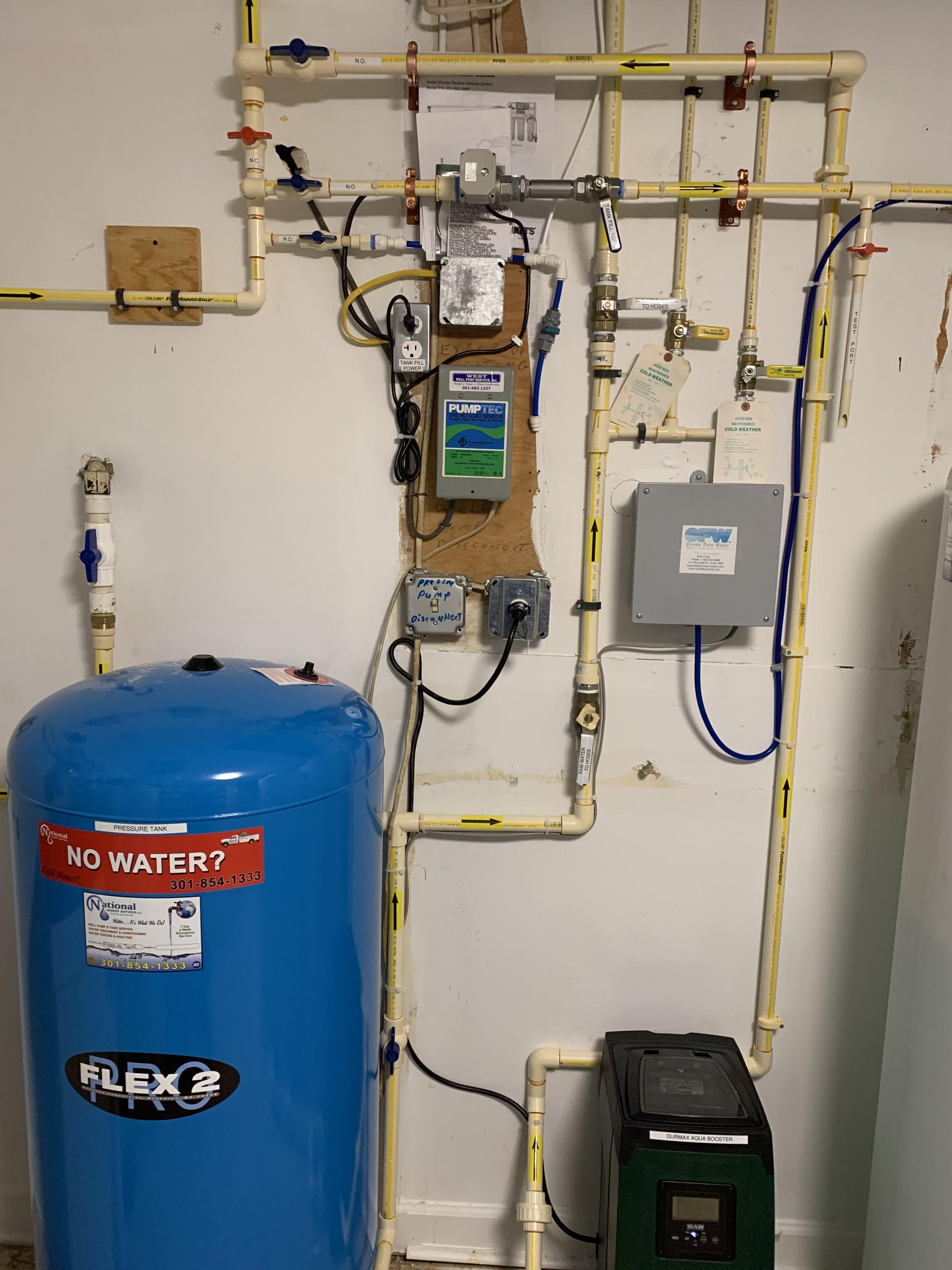 Pressure Tank Pressure Booster For Water Storage Tank Water Storage Tanks Water Treatment Storage Tank