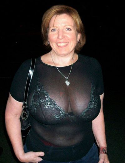 Amateur mature women in bras