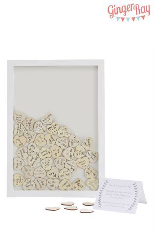 buy heart frame guest book from the next uk online shop