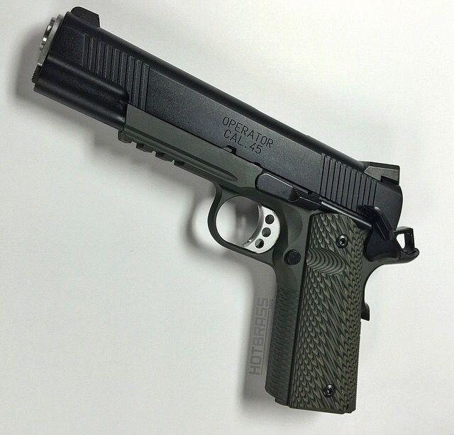 Pistol, 45ACP, 1911, Springfield Armory, guns, weapons, self defense, protection, 2nd amendment, America, firearms, munitions #guns #weapons