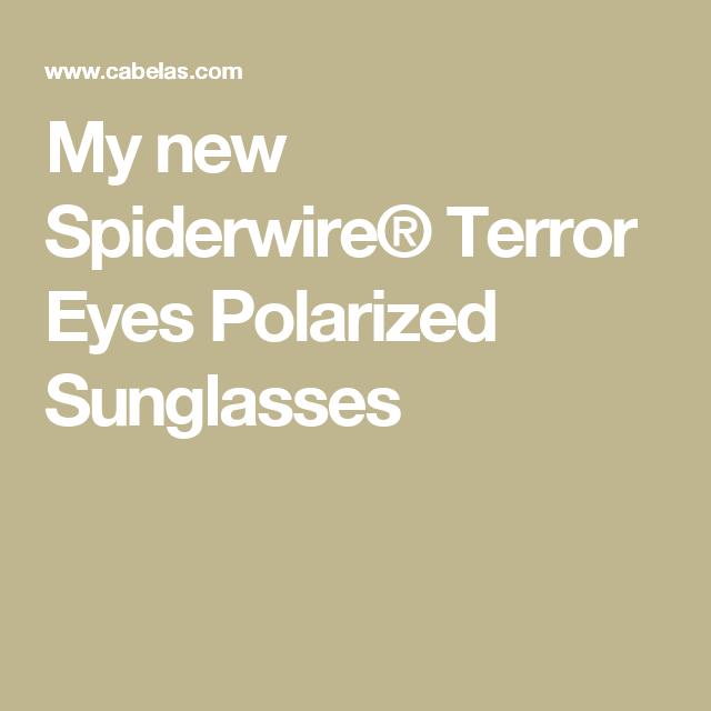 0dbff600a7 My new Spiderwire® Terror Eyes Polarized Sunglasses Polarized Sunglasses