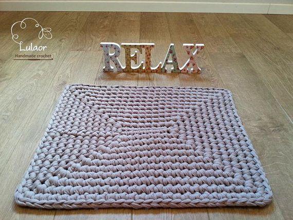 Crochet Rug T Shirt Yarn Floor