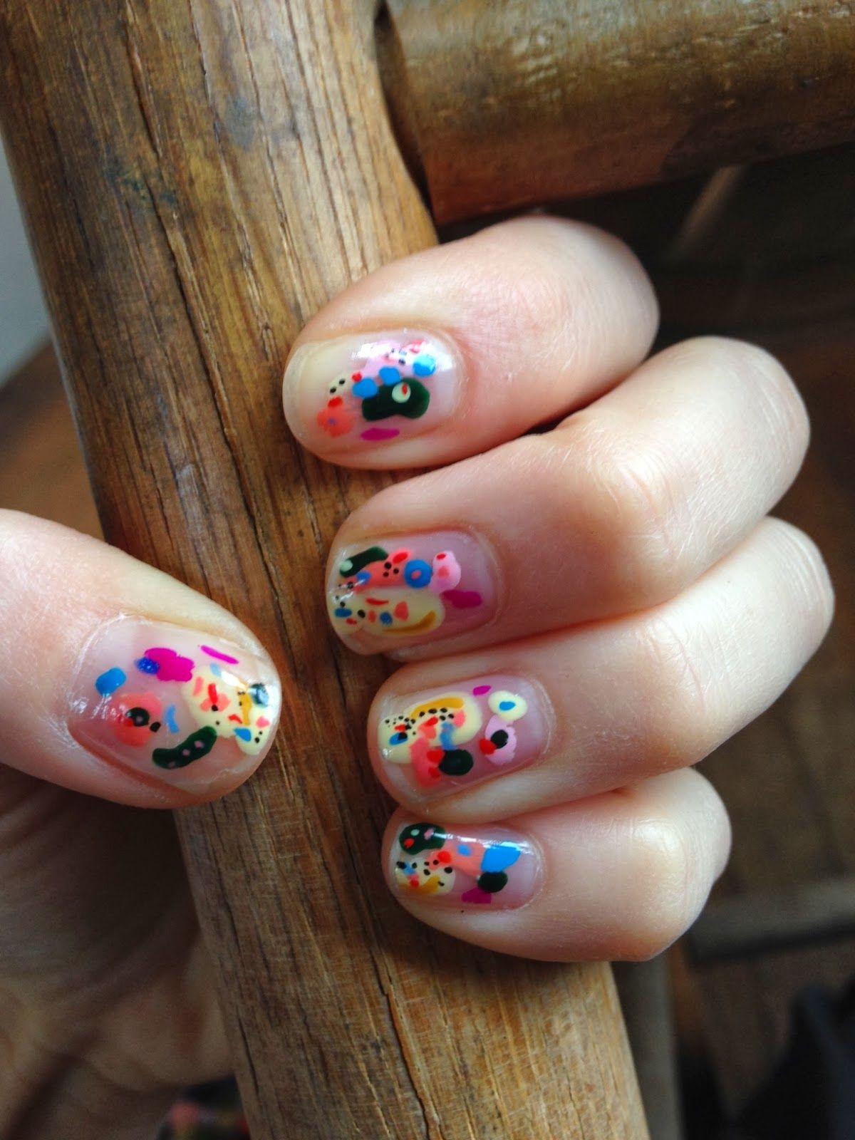 Abstract Nail Art | Nails | Pinterest | Diseños de uñas, Manicuras y ...