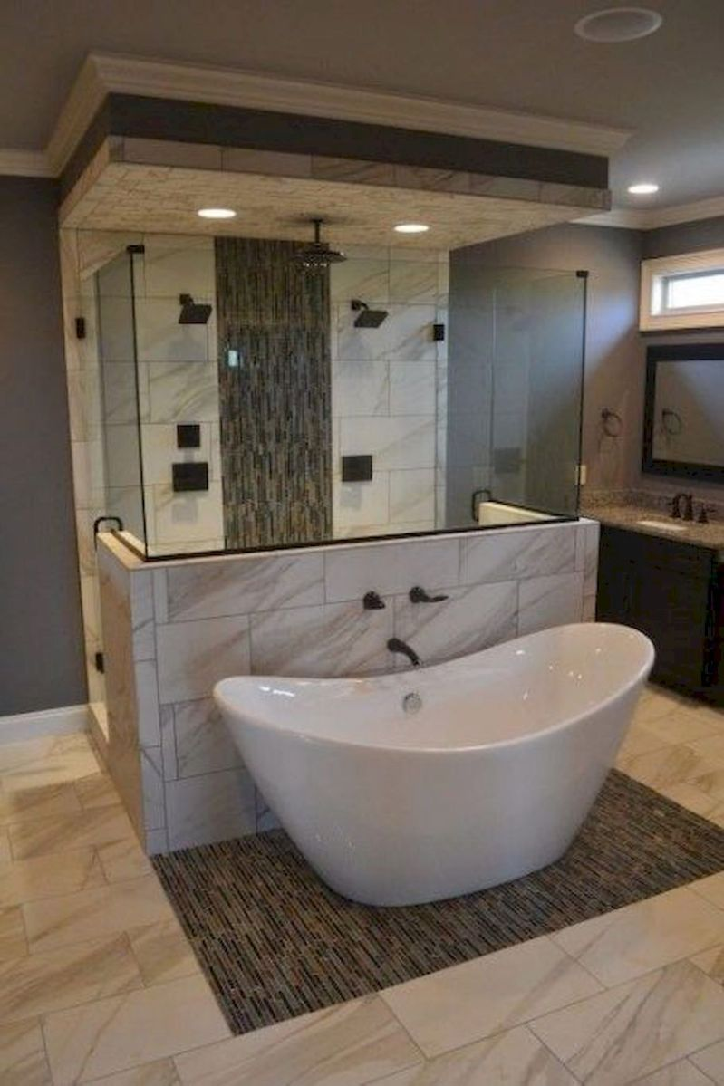 22 Cool Small Master Bathroom Remodel Ideas Luxury Master Bathrooms Bathroom Remodel Master Master Bathroom Decor