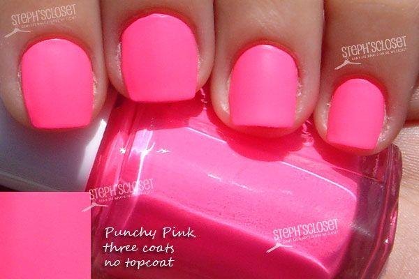 Steph\'s Closet Photo: Essie Punchy Pink Nail Polish   Nails ...