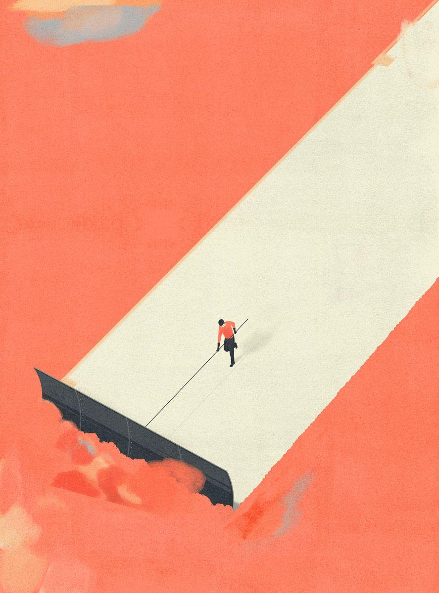 Editorial Illustrations by Francesco Bongiorni | Inspiration Grid