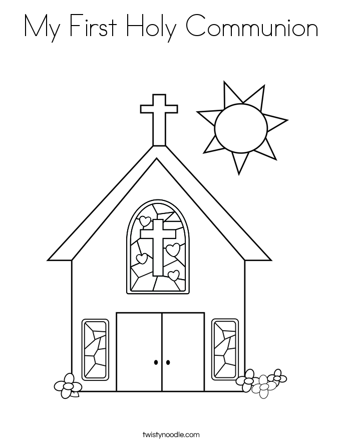 first communion banner templates my first holy communion coloring