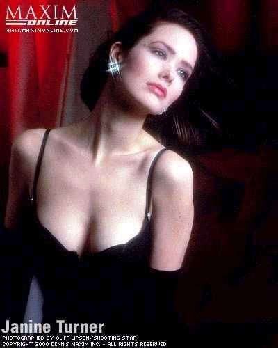Janine Turner, actress (Northern Exposure)