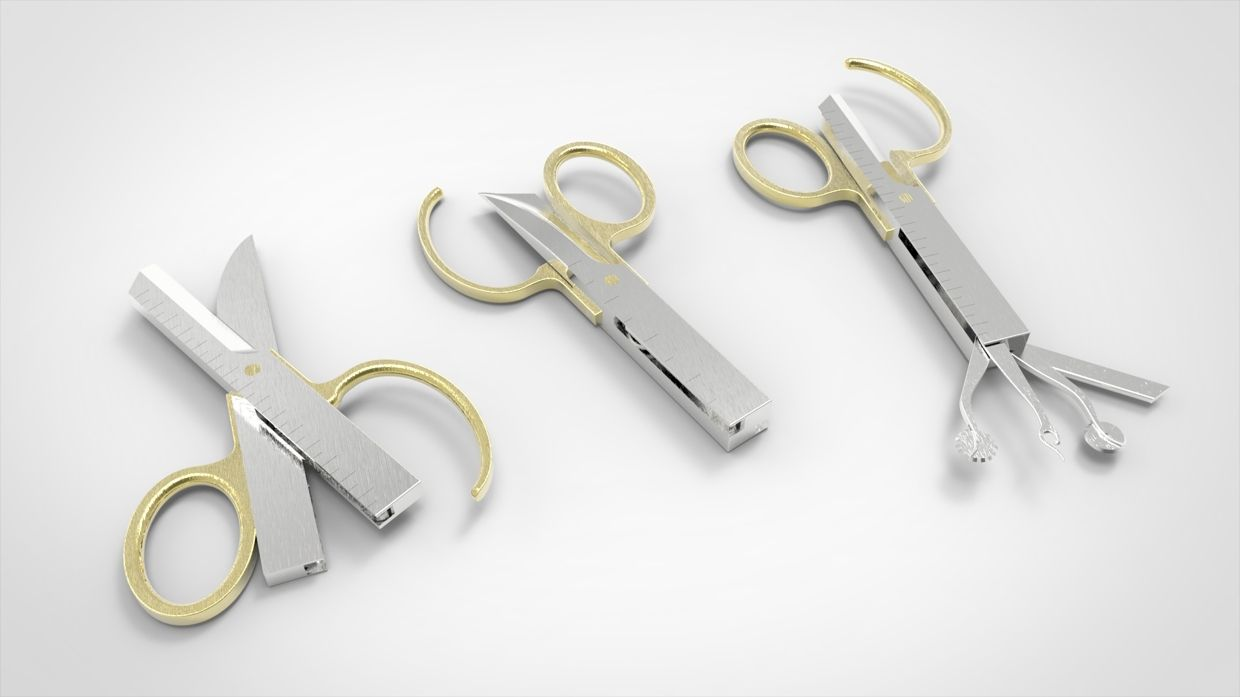 Dress Maker Leatherman Concept The Main Fabric Scissors