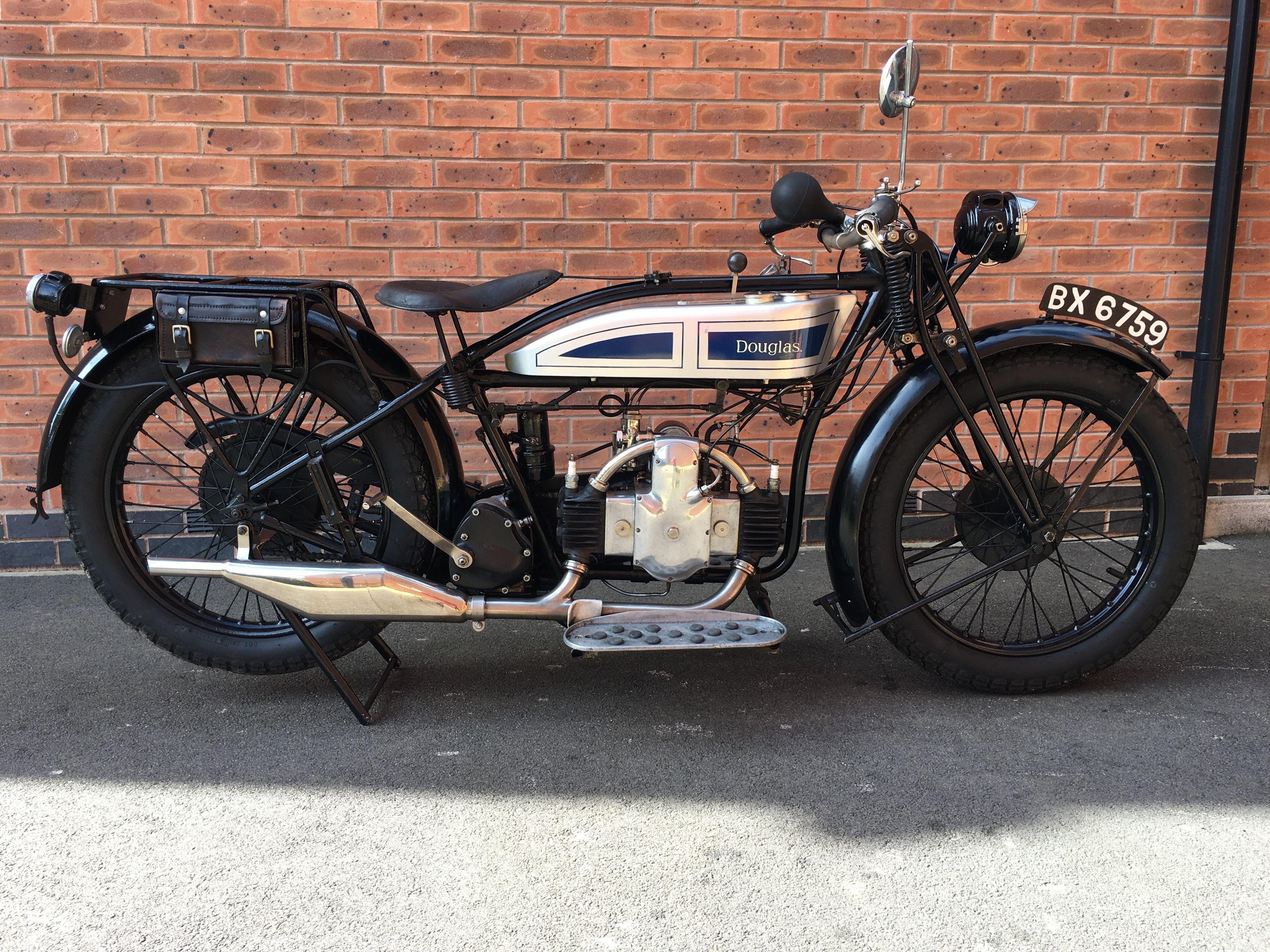 1926 Douglas 350 Ew Motos Antigas Motos Motocicletas