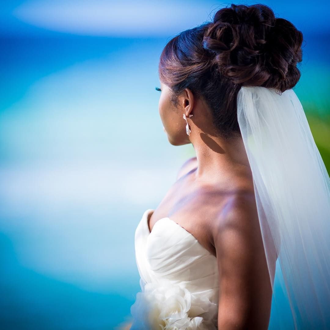 Wedding Hairstyles In Jamaica: Bride Hairstyles Image By Dwells Gardiner On Bridal