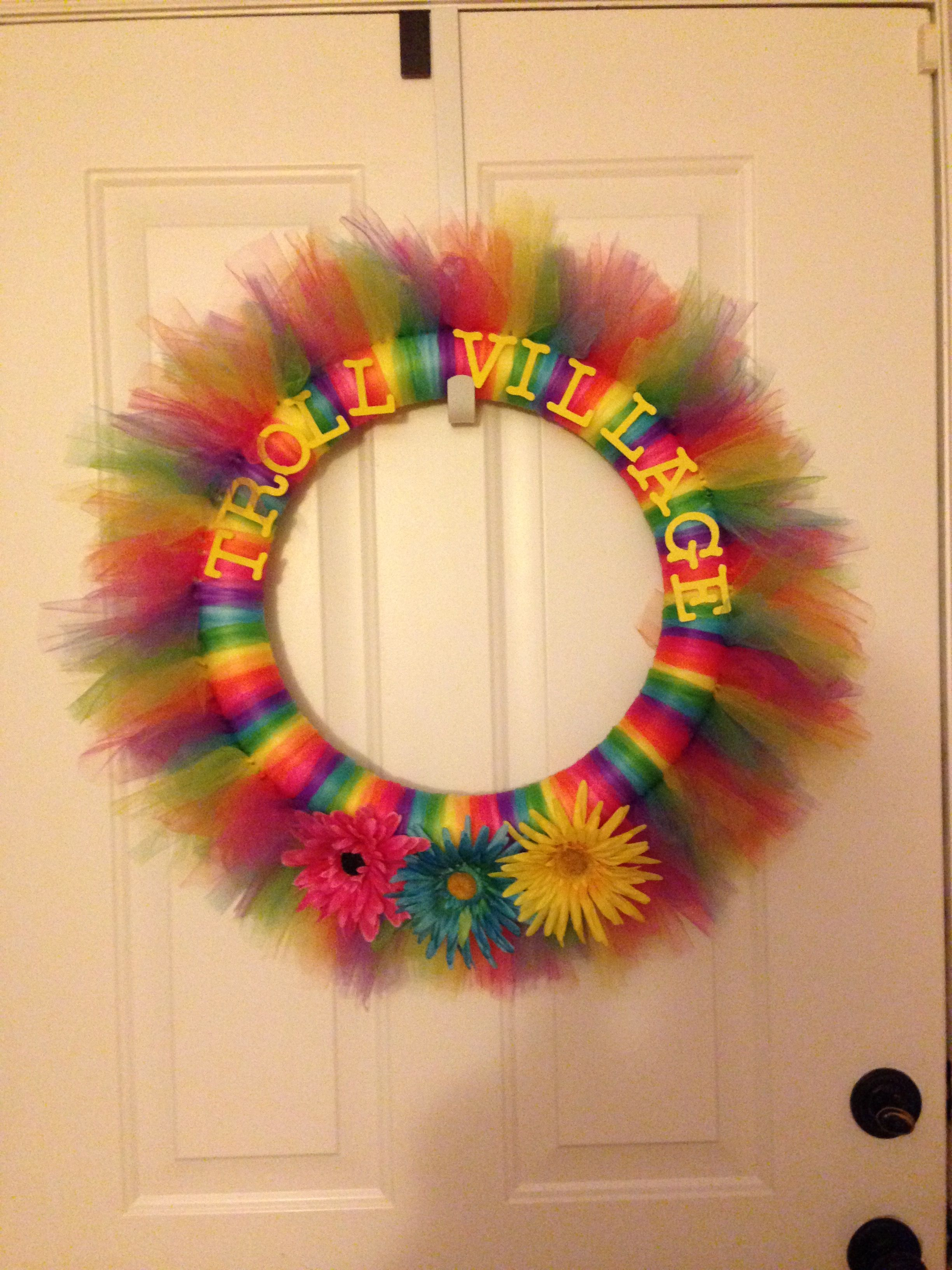 Girls Trolls Bedroom: Cumpleaños, Fiesta, Cumple
