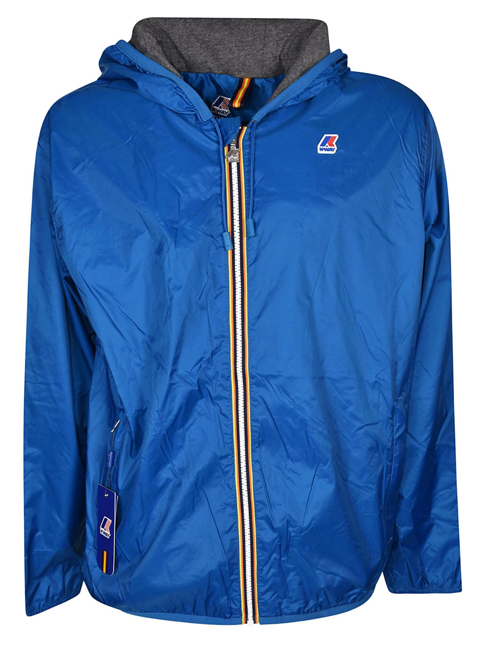 Jacket In Blue Jackets, Zip jackets, Leather jacket