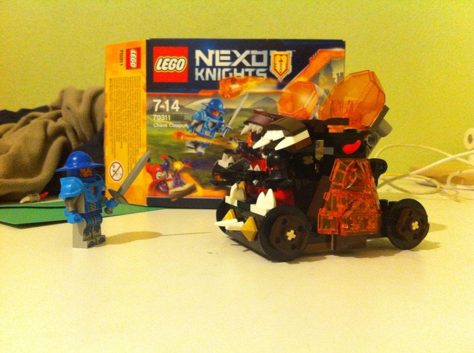 Lego nexo knights chaos catapult | Knights | Pinterest | Lego ...