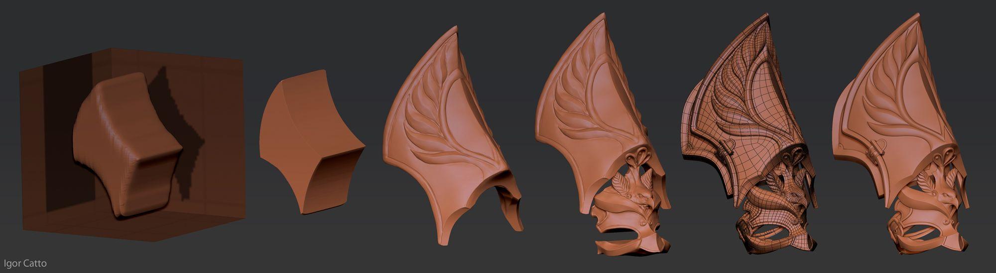 Step by Step - armor | tutors | Zbrush, Sculpting tutorials