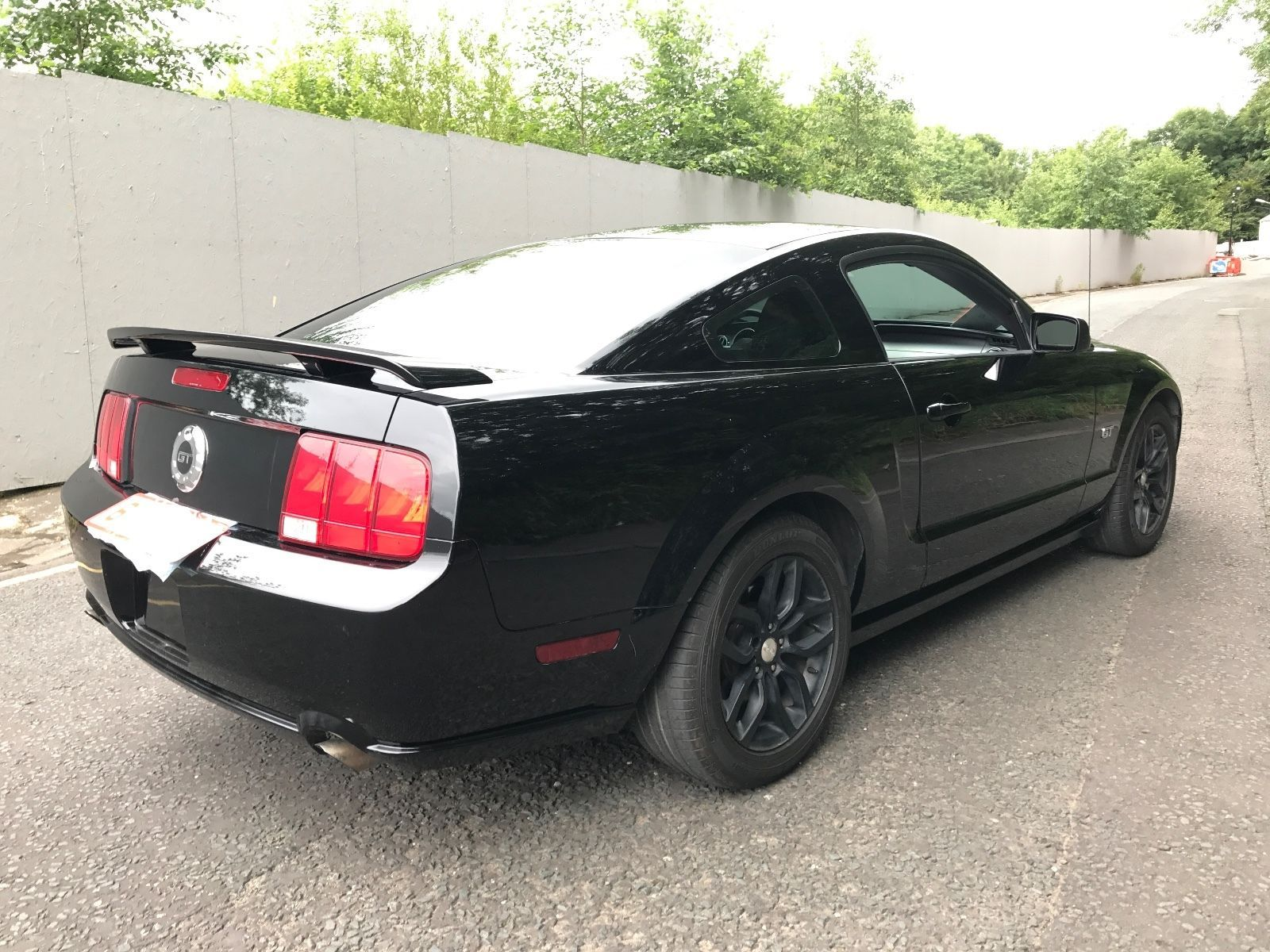 This ford mustang 4.6 v8 gt lhd manual totally un modified fresh ...