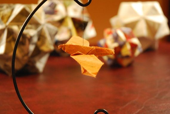 Paper Origami Falcon 3d Bird By ShenandoahFolds