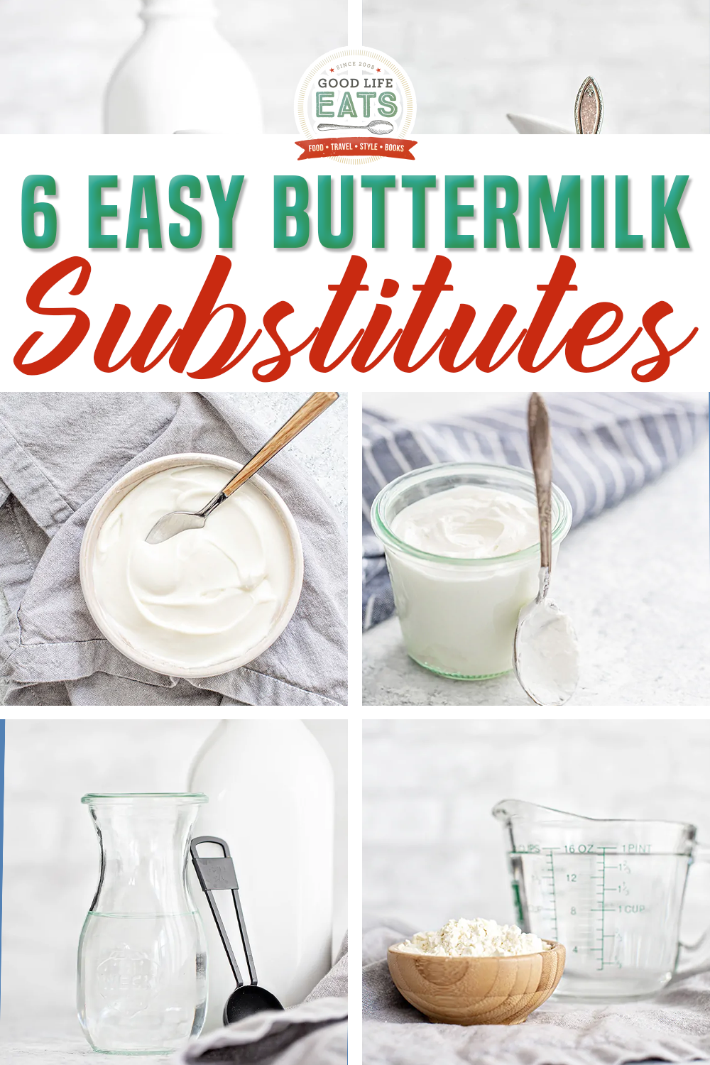 Learn How To Make Buttermilk In 2020 Buttermilk Substitute How To Make Buttermilk Sweet Treats Recipes