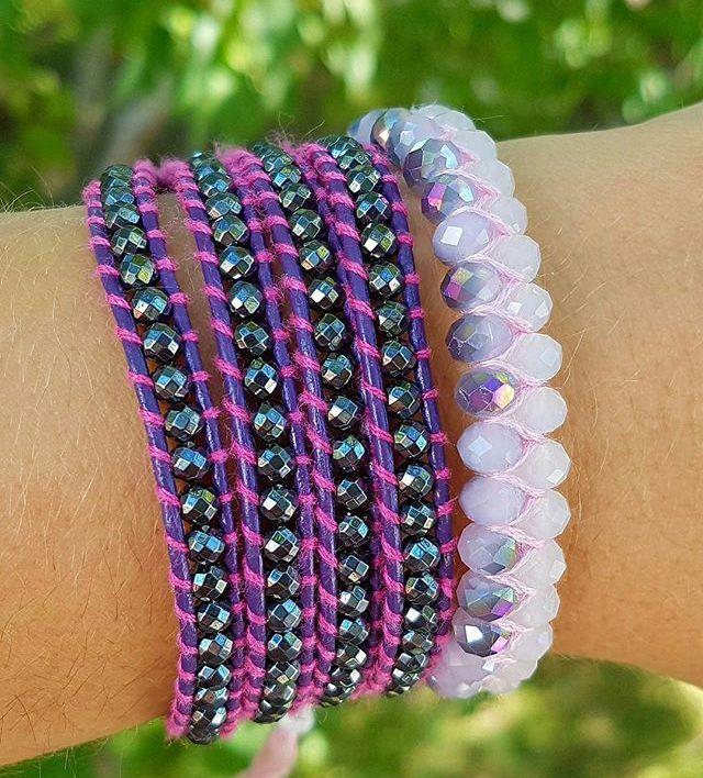 Summer Paparazzi Quad Wrap Bracelet