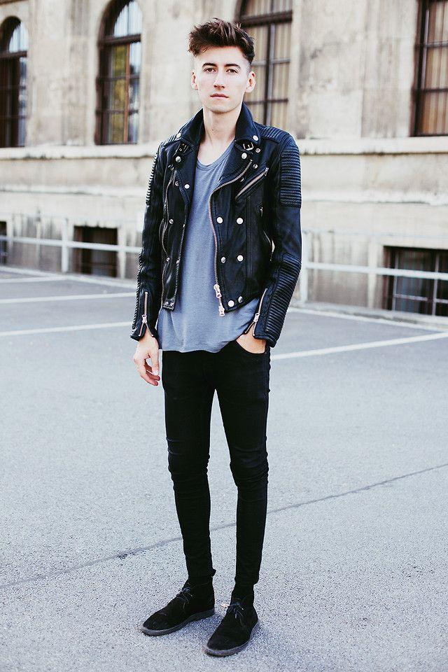 leather biker jacket zara man shoes
