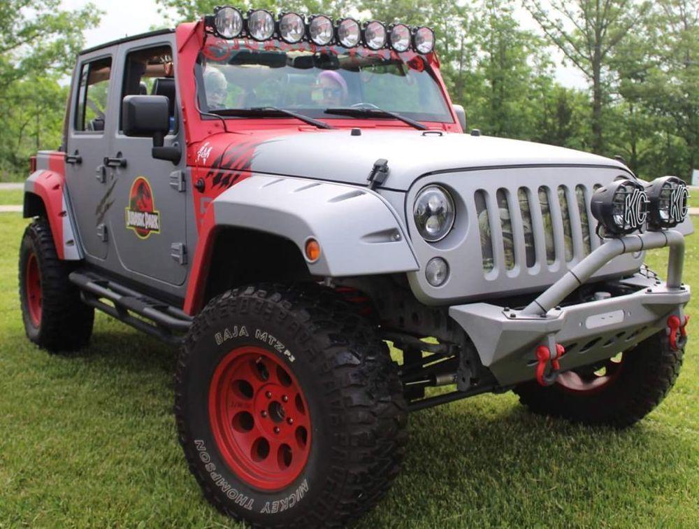 eBay: 2016 Jeep Wrangler 2016 Jurassic Park Jeep #jurassicparkworld