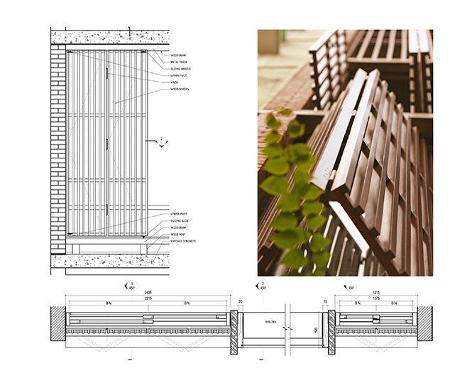 DA  A architects  maison \u201ctube\u201d à Hanoi S2 2-Ref Espace jour