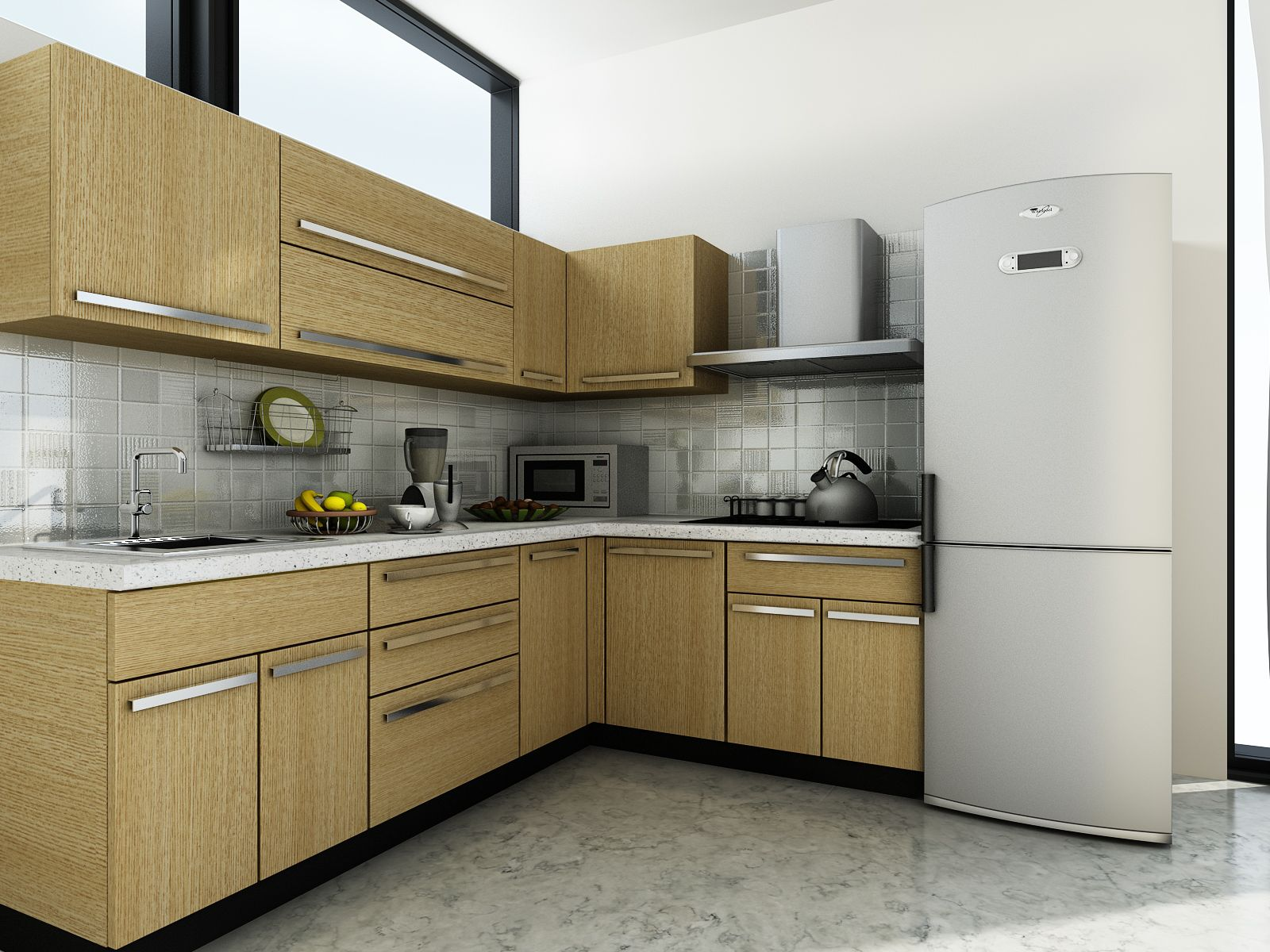 Modular Kitchen Design For L Shape Customfurnish L Shaped Kitchen Design Modular