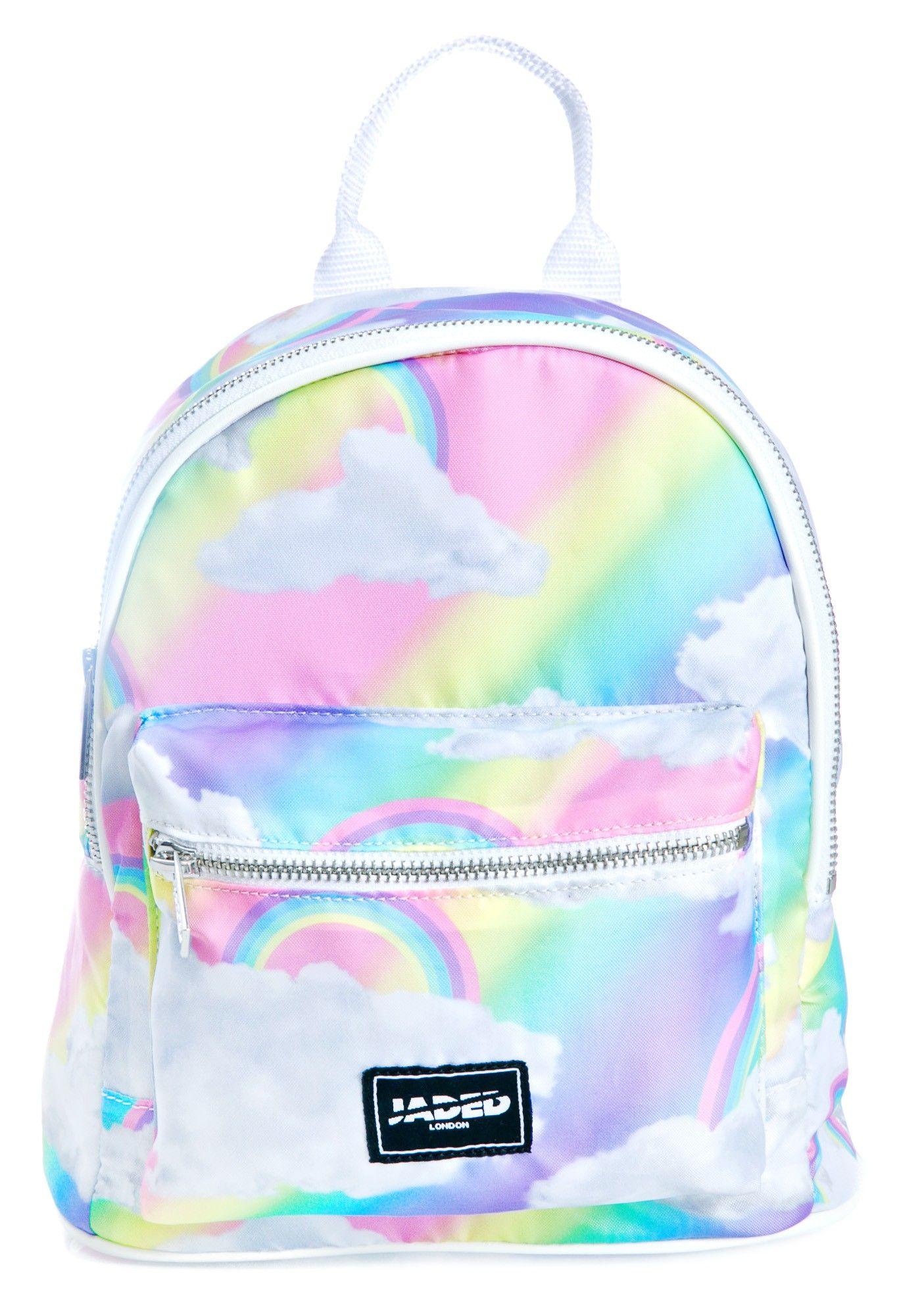 06a39d1329 Jaded London Rainbow Cloud Backpack