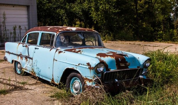 the most important reason you might have for replacing your current car is the fact that it keeps breaking down old rusty car - Rusty Old Cars For Sale