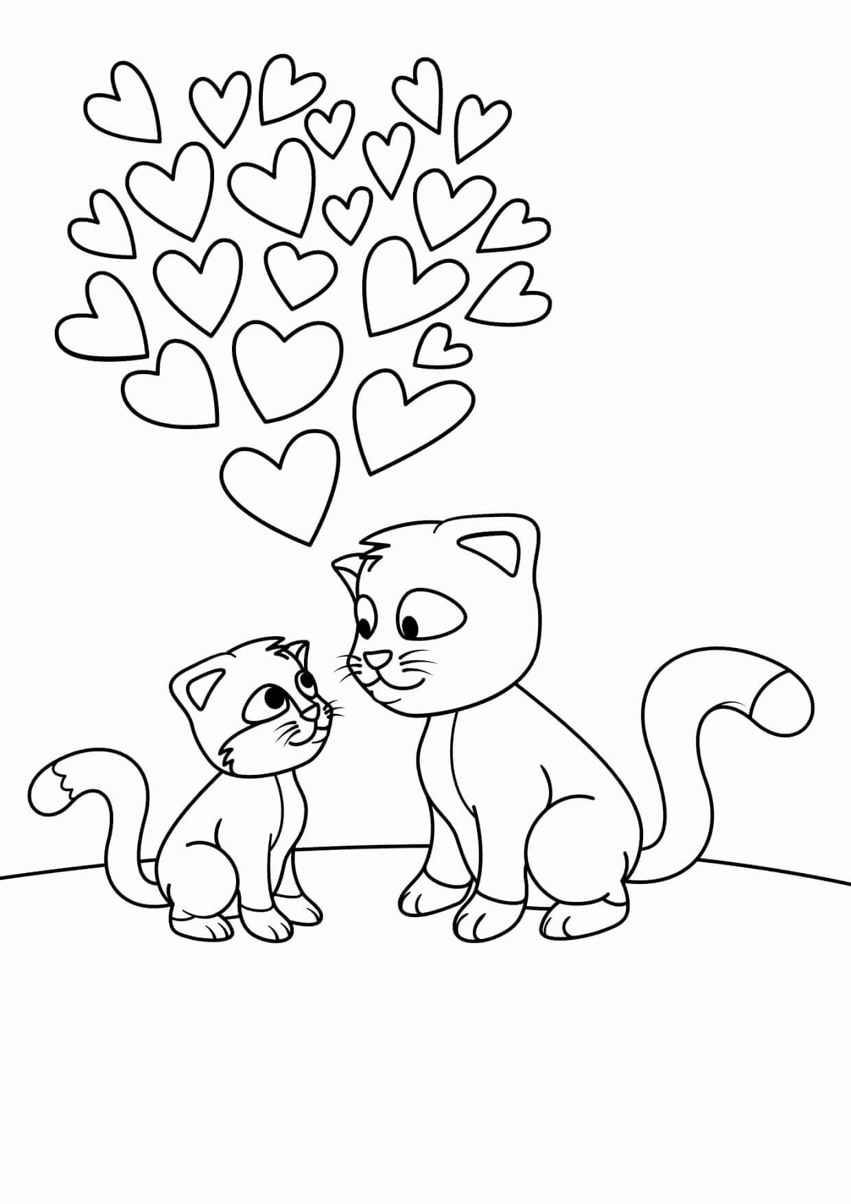 30 Cartoon Coloring Pages Printable In