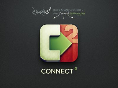 Connect² iOS Icon (With images) Ios icon, Iphone design