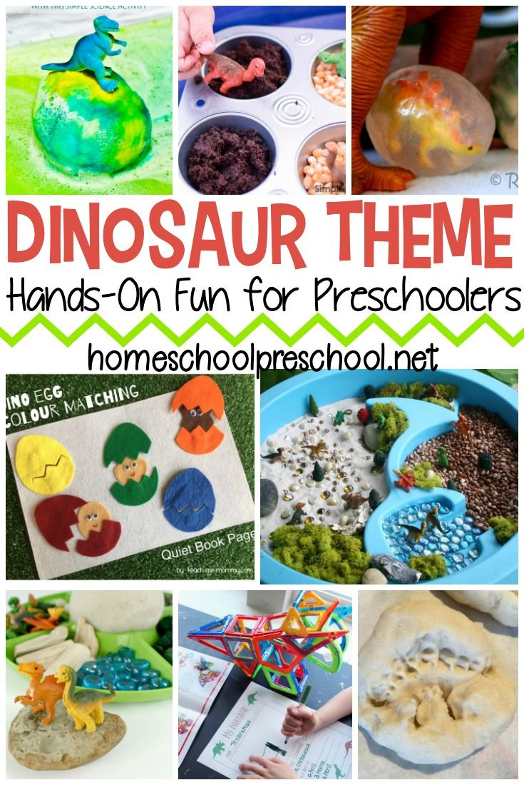 Engaging Hands-On Dinosaur Preschool Theme Activities