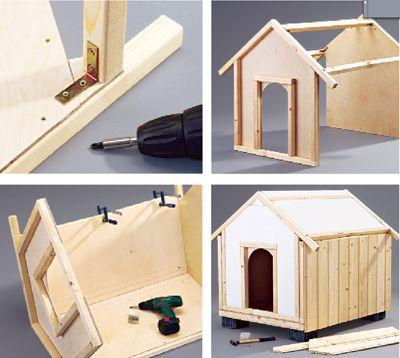 Come costruire una cuccia per cani dog pinterest for Cuccia cane fai da te legno
