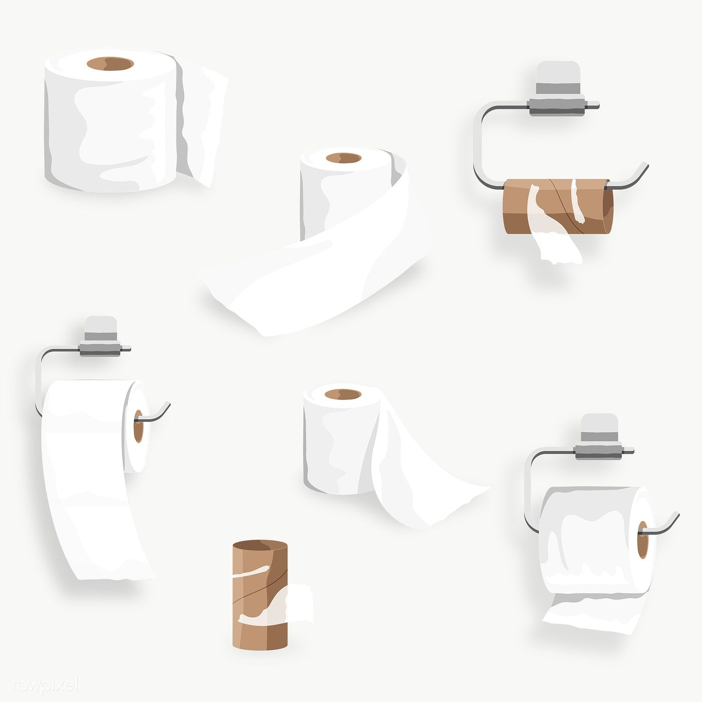 Toilet Tissue Roll Set Element Transparent Png Free Image By Rawpixel Com Aew Png Transparent Tissue