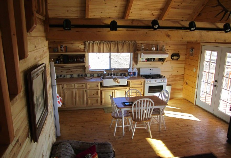 Perfect Small Cabin Interiors | Log Home Floor Plans   San Antonio
