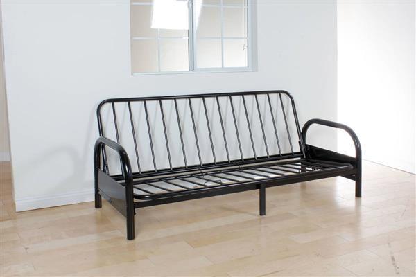 Acme Furniture Alfonso Black Metal Adjustable Sofa Frame Futon Frame Sofa Frame Metal Futon