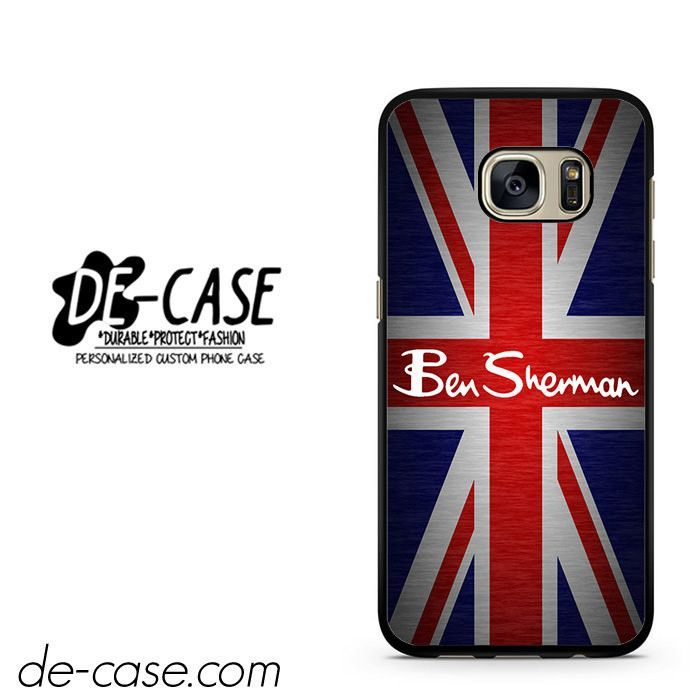 Ben Sherman England Flag DEAL-1744 Samsung Phonecase Cover For Samsung Galaxy S7 / S7 Edge