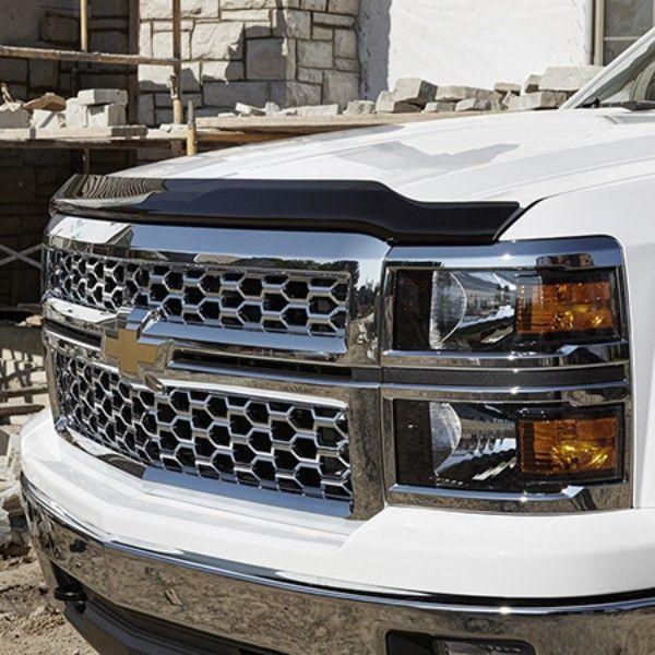 2016 Silverado 3500 Molded Hood Protector Smoke 19329331 Chevrolet Accessories Silverado Truck Accessories