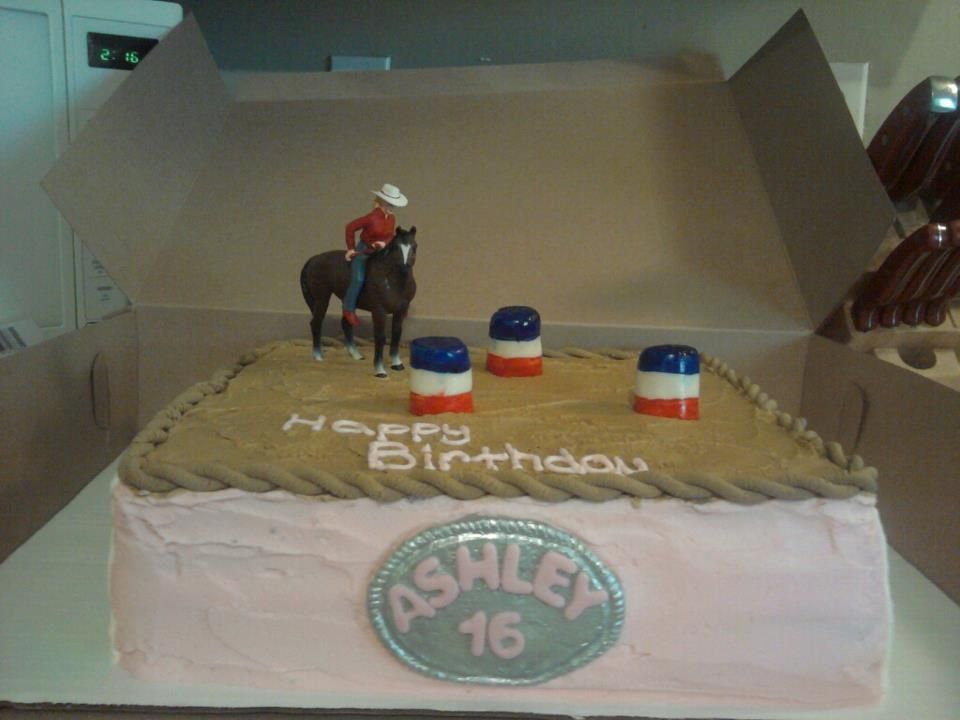 Barrel Racing Horse Birthday Cake Barrel Racing Cake Racing Cake