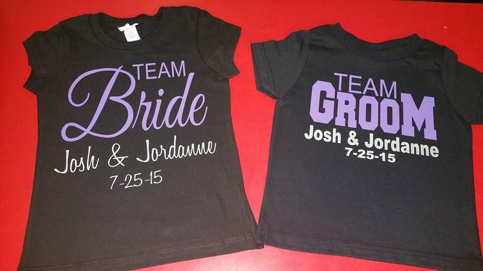 Wedding T Shirt Ideas: Nancy Moran-Julian Shared These Bridal Party T-shirts
