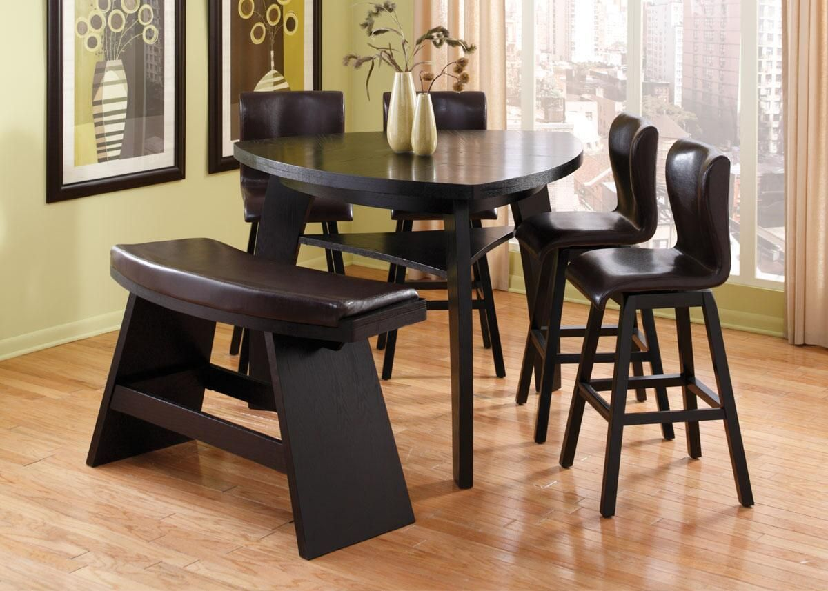 Irma 4 Pcdinette W One Bench  Furniture  Pinterest  Bench Impressive The Room Place Dining Room Sets Decorating Inspiration