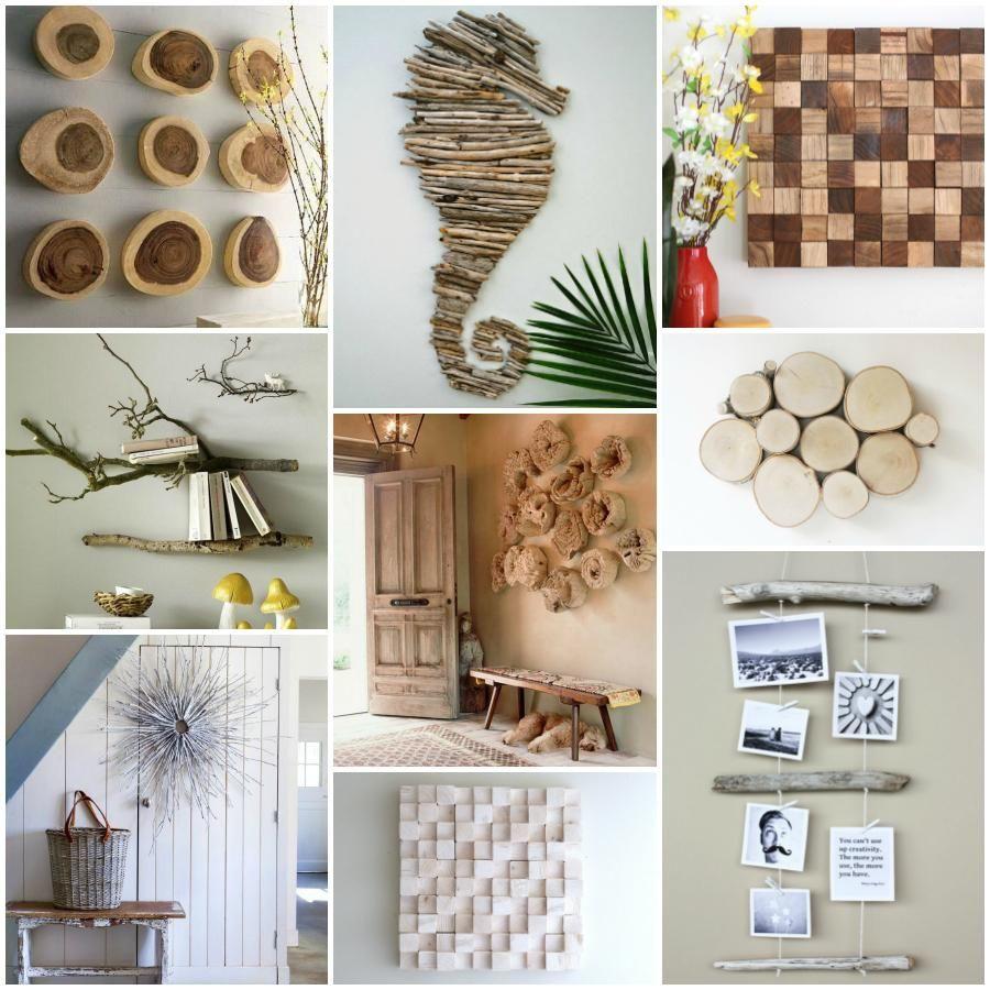 24 ideas para decorar la casa despu s de un paseo ideas for Decoracion reciclaje interiores
