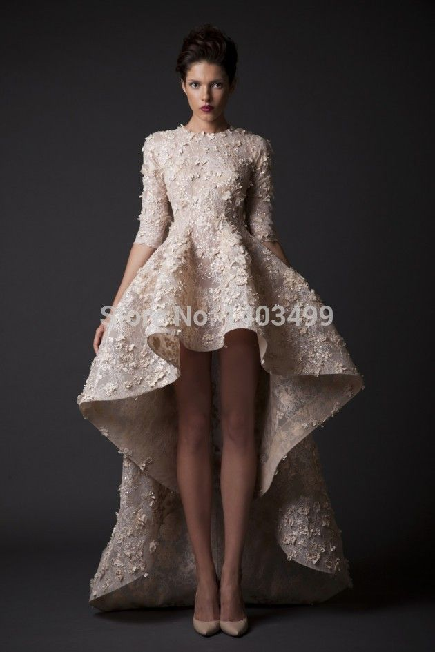 long sleeve turtleneck open back high low lace wedding dress google search